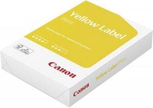 Papier biurowy Canon Yellow Label A4 - Karton 5x ryza (2500 arkuszy) Matowy