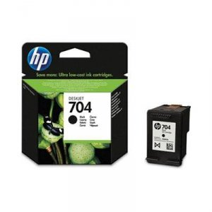 Tusz HP 704 Black