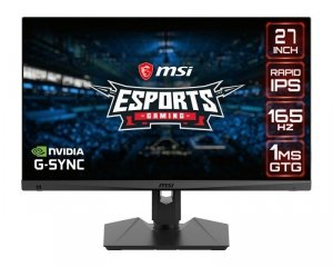 Monitor MSI 27 Optix MAG274QRF QD IPS PIVOT 2xHDMI DP 2xUSB-A USB-B