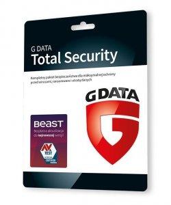 G DATA Total Security 3PC 2lata karta-klucz