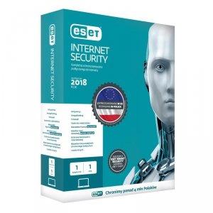ESET Internet Security dla 1 komputera - przedłużenie licencji, 36 m-cy, upg., BOX