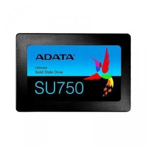 Dysk SSD ADATA Ultimate SU750 256GB 2,5 SATA3 (550/520 MB/s) 7mm, 3D TLC