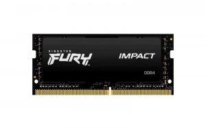 Pamięć SODIMM DDR4 Kingston Fury Impact 8GB (1x8GB) 2933MHz CL17 1,2V
