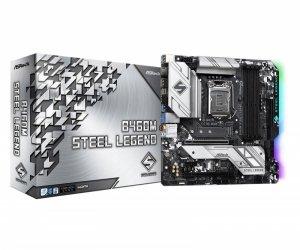 Płyta ASRock B460M Steel Legend /B460/DDR4/SATA3/M.2/USB3.0/PCIe3.0/s.1200/mATX