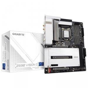 Płyta Gigabyte Z590 VISION D (rev. 1.0) /Z590/DDR4/SATA3/M.2/USB3.1/PCIe3.0/s.1200/WIFI/BT/ATX