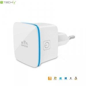 Wzmacniacz sygnału Wi-Fi Techly N300 Wall-Plug