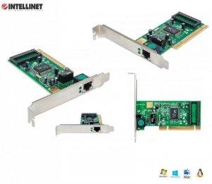 Karta sieciowa Intellinet 10/100/1000 RJ45 Gigabit na PCI
