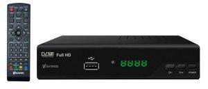 Tuner Dekoder Cyfrowy DVB-T/T2 H.265 Vakoss DB-619 z pilotem
