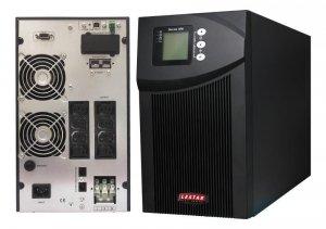 Zasilacz awaryjny UPS Lestar MEP II - 2000P 2000VA/1800W On-Line LCD 8XIEC + 1X16A