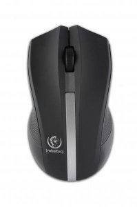 Mysz bezprzewodowa Rebeltec GALAXY optyczna 1000DPI 3 przyciski czarno-srebrna