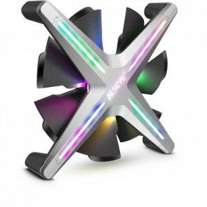 Wentylator Inter-Tech ALSEYE X12 Szary RGB