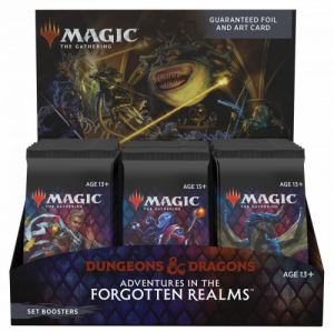 MTG - Adventures in the Forgotten Realms - Set Boosters box (30)