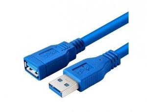 Kabel przedłużacz USB 3.0 AM-AF 1m