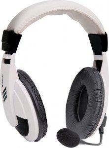 DUPLIKAT: Słuchawki z mikrofonem Defender GRYPHON 750 białe