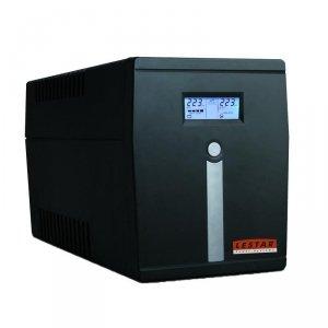 Zasilacz awaryjny UPS Line-Interactive 2000VA/1200W AVR LCD 4XFR USB RJ-45 Lestar MCL-2000ffu
