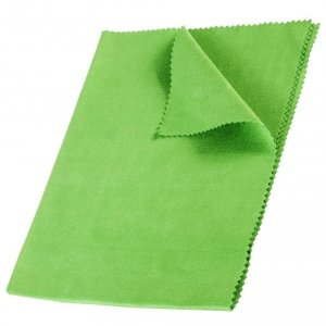 Ściereczka, ścierka z mikrofibry 40x30cm zielona Shine Glass GreenBlue GB840