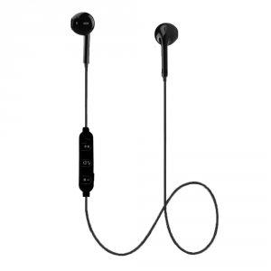 Słuchawki z mikrofonem Esperanza EH187K douszne Bluetooth sportowe