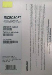 Windows 7 Home Refurbisher do Vista Business SP1 64-bit Polish OEM - PN 66J-05643
