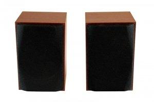 MEDIATECH MT3151 WOOD-X - Głośniki stereofoniczne 10W RMS, drewniane obudowy, reg. głośności