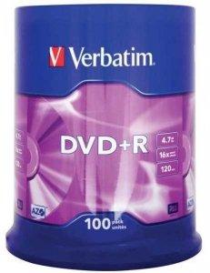 DVD-R VERBATIM 4.7GB x16/1szt