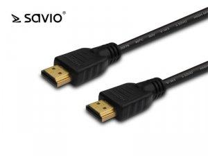 Kabel HDMI 20m, czarny, złote końcówki, v1.4 high, Savio CL-75