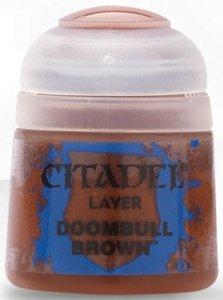 Farba Citadel Layer - Doombull Brown 12ml