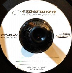 CD-RW Mini 210 mb 24 min /1szt