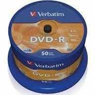 Płyta Verbatim DVD-R 4.7GB/1szt