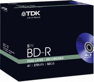 TDK  Dual Layer Recordable 50GB 1szt