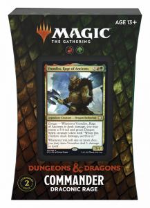 MTG - Adventures in the Forgotten Realms - Commander Decks - Draconic Rage
