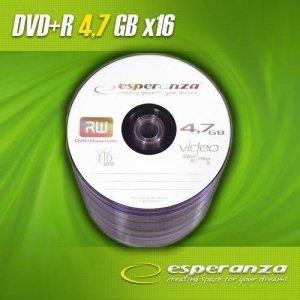 DVD+R Esperanza 16x 4,7GB 1 sztuka