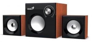 Genius głośniki SW-2.1 370, kolor drewniany