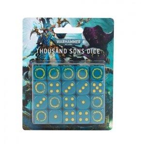 Zestaw kości - Thousand Sons Dice (20)