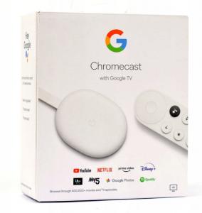 Odtwarzacz Google Chromecast 4.0