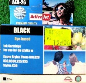 Tusz Activejet AER-26, 17ml, black
