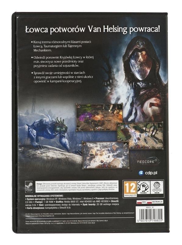 Gra Van Helsing 2 PC