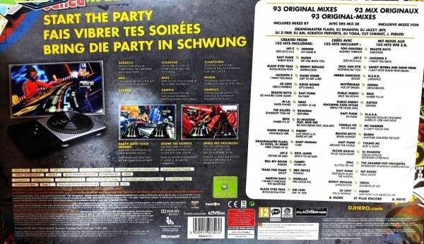 DJ HERO BUNDLE            X360