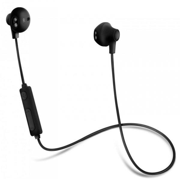 Słuchawki z mikrofonem Acme BH102 bezprzewodowe Bluetooth douszne czarne