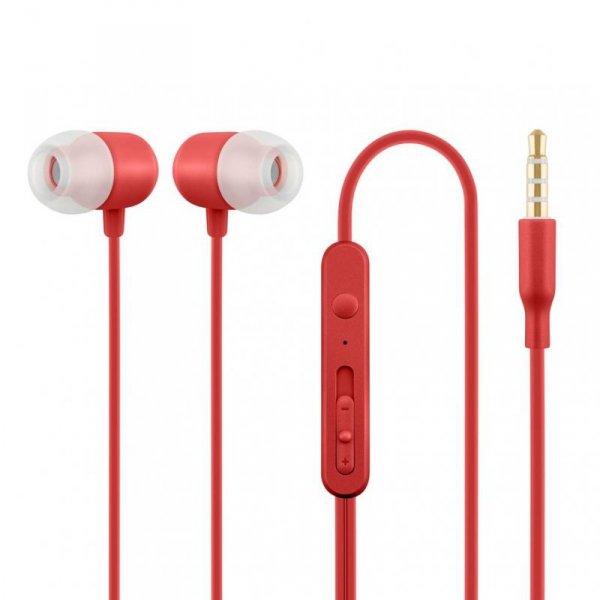 Słuchawki z mikrofonem Acme HE21R czerwone
