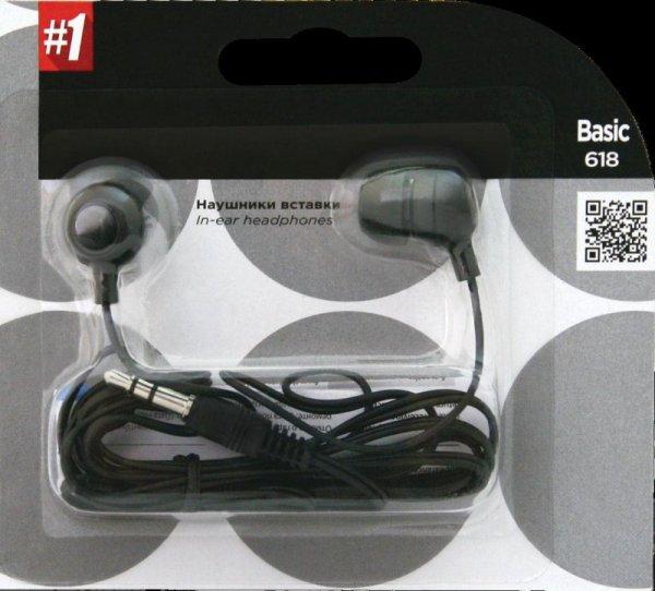 Słuchawki Defender BASIC 618 douszne czarne