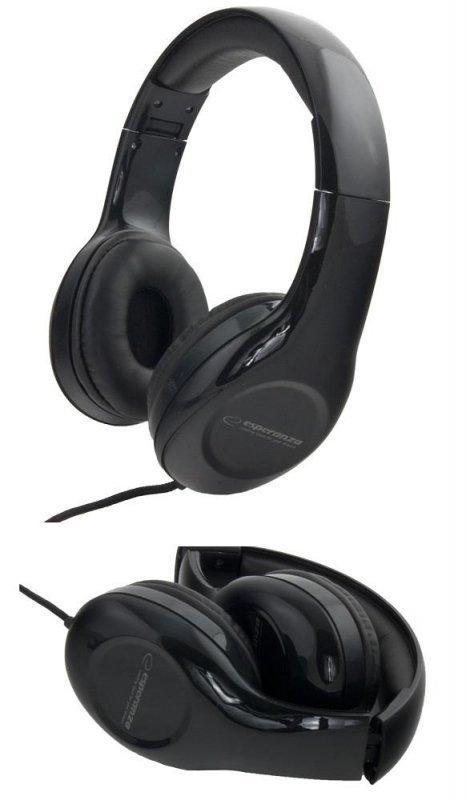Słuchawki Esperanza EH138K Soul czarne