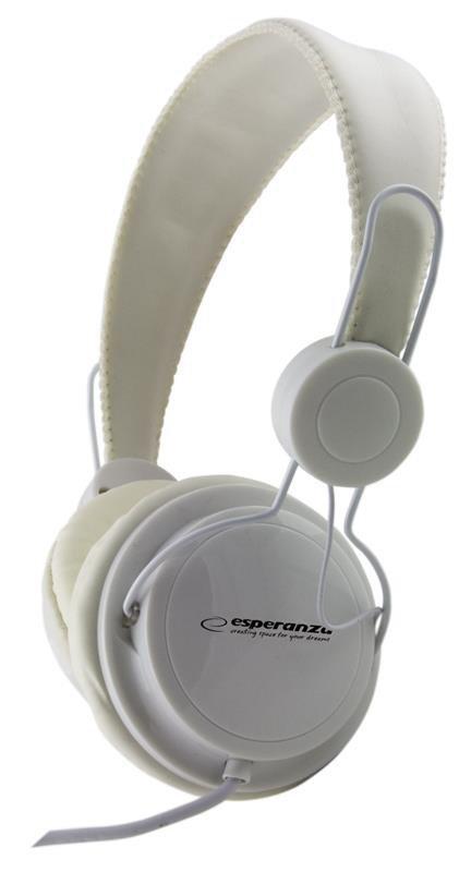 Słuchawki Esperanza EH148W białe