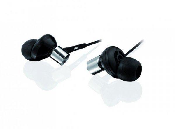 Słuchawki iBOX P009 czarne
