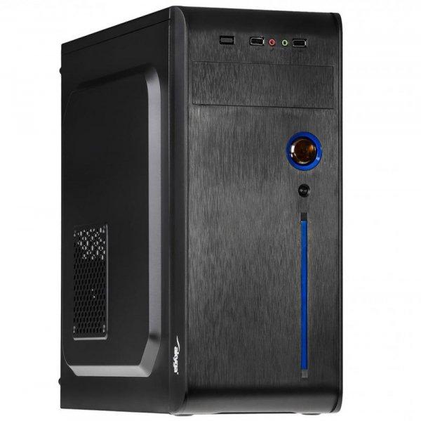 Obudowa Midi ATX Akyga AK939BL 2x USB 2.0 czarna bez zasilacza