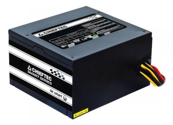 Zasilacz Chieftec GPS-500A8 500W ATX 120mm aPFC Spraw>85%