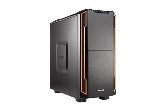 Obudowa be quiet! Silent Base 600 ATX Midi Orange bez zasilacza
