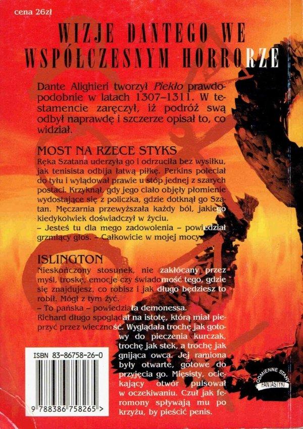 Uczniowie Dantego. Epifania. Brian W. Aldis i inni. front książki. 26 zł