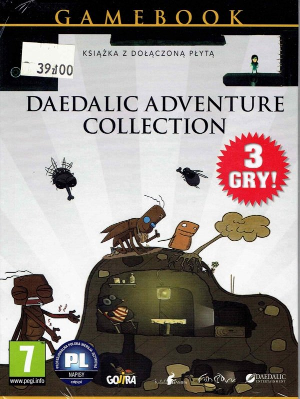 Gamebook Daedalic Adventure Collection.front