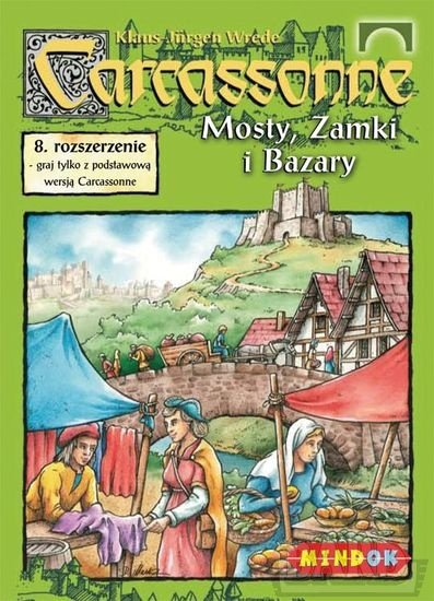 CARCASSONNE PL MOSTY, ZAMKI I BAZARY
