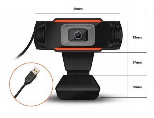 Kamera internetowa DUXO WEBCAM-X13 1080P USB